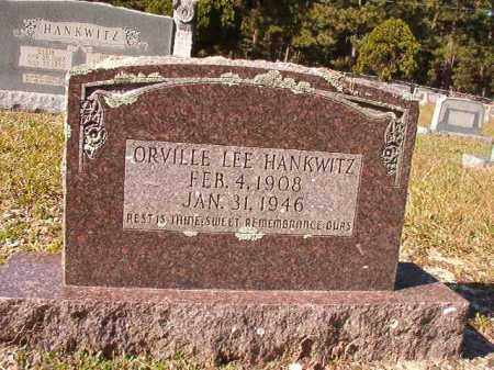 HANKWITZ, ORVILLE LEE - Dallas County, Arkansas | ORVILLE LEE HANKWITZ - Arkansas Gravestone Photos