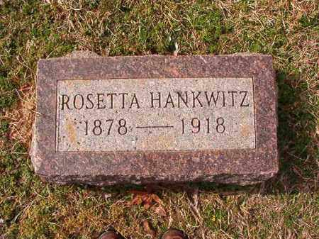 HANKWITZ, ROSETTA - Dallas County, Arkansas | ROSETTA HANKWITZ - Arkansas Gravestone Photos