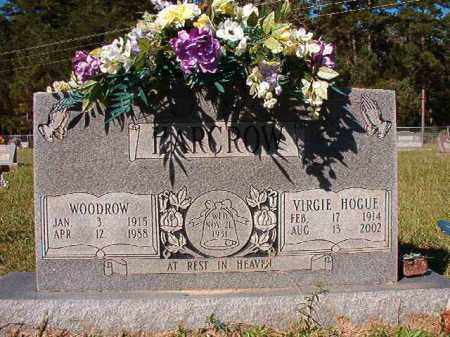 HOGUE HARCROW, VIRGIE - Dallas County, Arkansas | VIRGIE HOGUE HARCROW - Arkansas Gravestone Photos