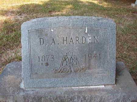 HARDEN, D A - Dallas County, Arkansas | D A HARDEN - Arkansas Gravestone Photos
