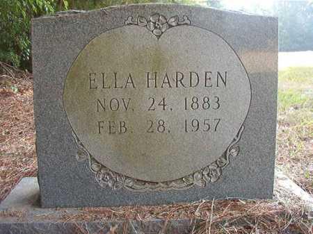 HARDEN, ELLA - Dallas County, Arkansas | ELLA HARDEN - Arkansas Gravestone Photos