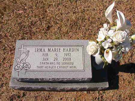 HARDIN, IRMA MARIE - Dallas County, Arkansas | IRMA MARIE HARDIN - Arkansas Gravestone Photos