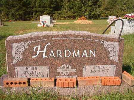 HARDMAN, JOHN R. - Dallas County, Arkansas   JOHN R. HARDMAN - Arkansas Gravestone Photos