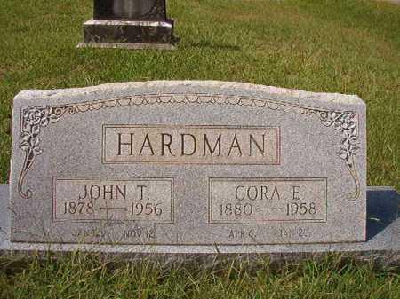 HARDMAN, JOHN T - Dallas County, Arkansas | JOHN T HARDMAN - Arkansas Gravestone Photos
