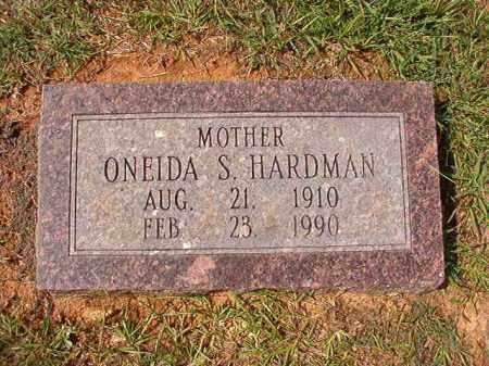 HARDMAN, ONEIDA S - Dallas County, Arkansas | ONEIDA S HARDMAN - Arkansas Gravestone Photos