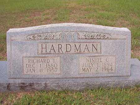 HARDMAN, RICHARD I - Dallas County, Arkansas | RICHARD I HARDMAN - Arkansas Gravestone Photos