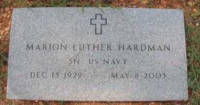 HARDMAN (VETERAN), MARION LUTHER - Dallas County, Arkansas   MARION LUTHER HARDMAN (VETERAN) - Arkansas Gravestone Photos