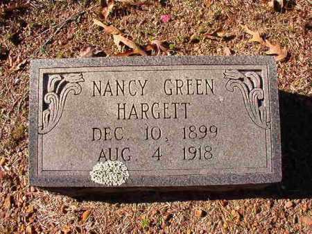 GREEN HARGETT, NANCY - Dallas County, Arkansas | NANCY GREEN HARGETT - Arkansas Gravestone Photos
