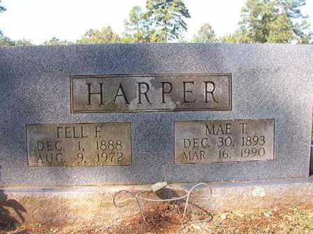 HARPER, MAE T - Dallas County, Arkansas | MAE T HARPER - Arkansas Gravestone Photos