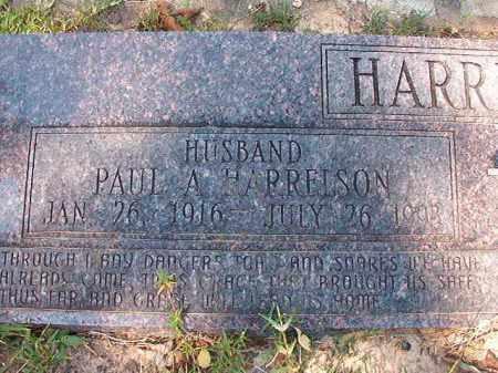 HARRELSON, PAUL A - Dallas County, Arkansas   PAUL A HARRELSON - Arkansas Gravestone Photos