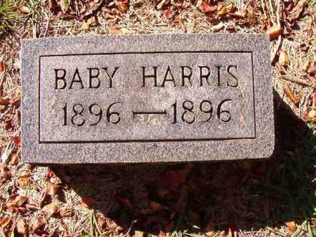 HARRIS, BABY - Dallas County, Arkansas | BABY HARRIS - Arkansas Gravestone Photos