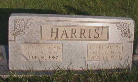 HARRIS, SIDNEY DEAN - Dallas County, Arkansas | SIDNEY DEAN HARRIS - Arkansas Gravestone Photos