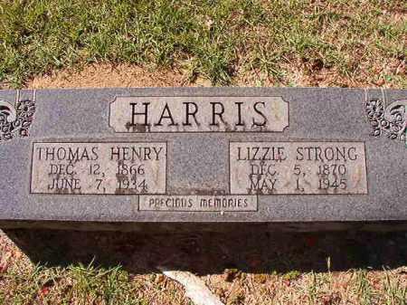 STRONG HARRIS, LIZZIE - Dallas County, Arkansas | LIZZIE STRONG HARRIS - Arkansas Gravestone Photos