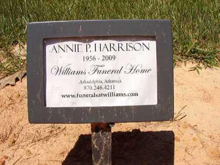 HARRISON, ANNIE P - Dallas County, Arkansas | ANNIE P HARRISON - Arkansas Gravestone Photos