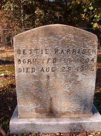 HARRISON, BETTIE - Dallas County, Arkansas   BETTIE HARRISON - Arkansas Gravestone Photos