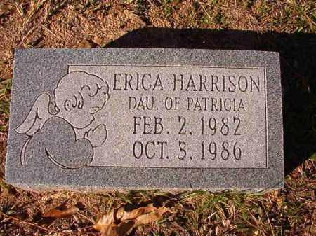 HARRISON, ERICA - Dallas County, Arkansas   ERICA HARRISON - Arkansas Gravestone Photos