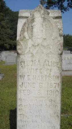 HARRISON, EUDORA ALICE - Dallas County, Arkansas   EUDORA ALICE HARRISON - Arkansas Gravestone Photos