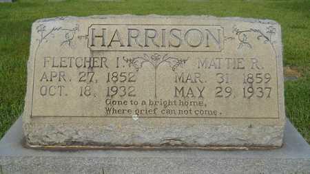 HARRISON, FLETCHER IRVIN - Dallas County, Arkansas | FLETCHER IRVIN HARRISON - Arkansas Gravestone Photos