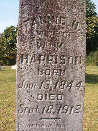 HARRISON, FANNIE H - Dallas County, Arkansas   FANNIE H HARRISON - Arkansas Gravestone Photos