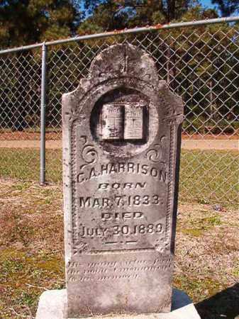 HARRISON, G A - Dallas County, Arkansas   G A HARRISON - Arkansas Gravestone Photos