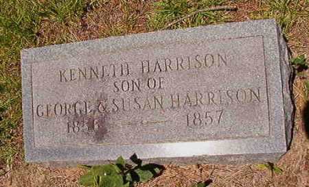 HARRISON, KENNETH - Dallas County, Arkansas | KENNETH HARRISON - Arkansas Gravestone Photos