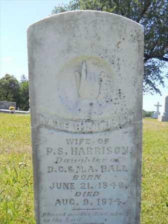 HARRISON, KATE - Dallas County, Arkansas   KATE HARRISON - Arkansas Gravestone Photos
