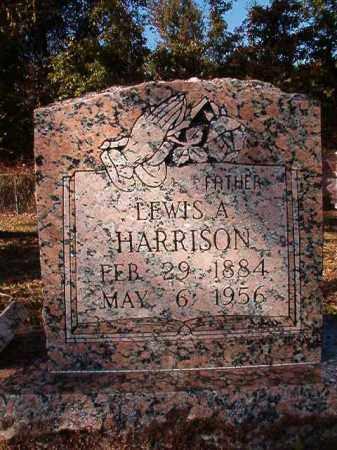HARRISON, LEWIS ALLEN - Dallas County, Arkansas   LEWIS ALLEN HARRISON - Arkansas Gravestone Photos