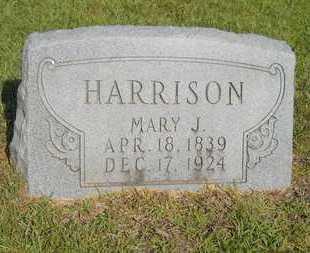 HARRISON, MARY JANE - Dallas County, Arkansas | MARY JANE HARRISON - Arkansas Gravestone Photos