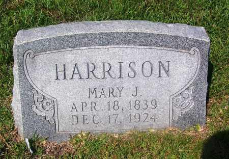 HARRISON, MARY J - Dallas County, Arkansas   MARY J HARRISON - Arkansas Gravestone Photos