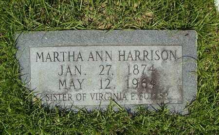 HARRISON, MARTHA ANN - Dallas County, Arkansas | MARTHA ANN HARRISON - Arkansas Gravestone Photos