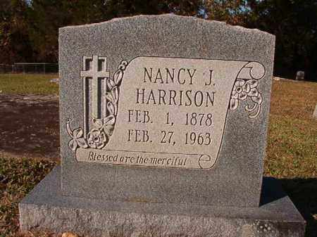 HARRISON, NANCY J - Dallas County, Arkansas | NANCY J HARRISON - Arkansas Gravestone Photos
