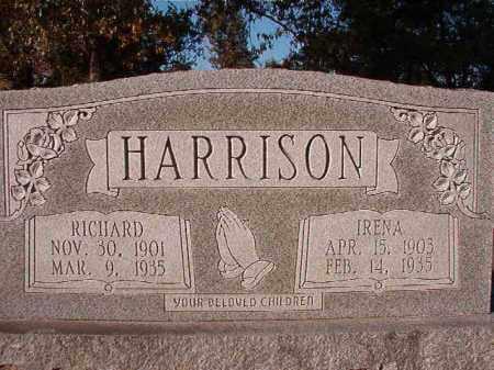 HARRISON, IRENA - Dallas County, Arkansas | IRENA HARRISON - Arkansas Gravestone Photos