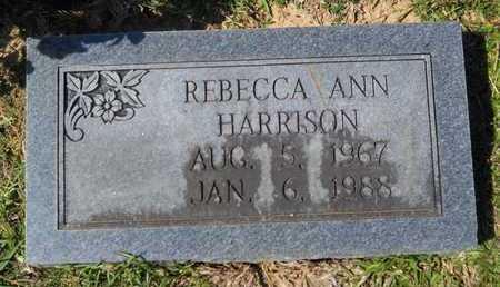 HARRISON, REBECCA ANN - Dallas County, Arkansas | REBECCA ANN HARRISON - Arkansas Gravestone Photos