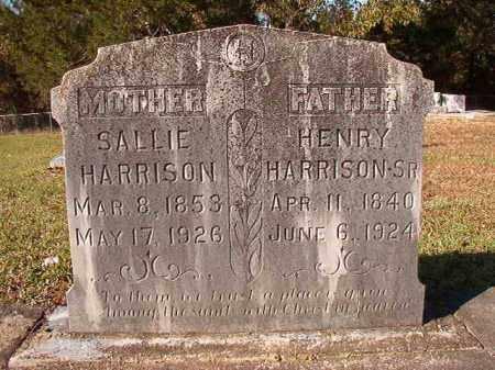 HARRISON, SALLIE - Dallas County, Arkansas   SALLIE HARRISON - Arkansas Gravestone Photos