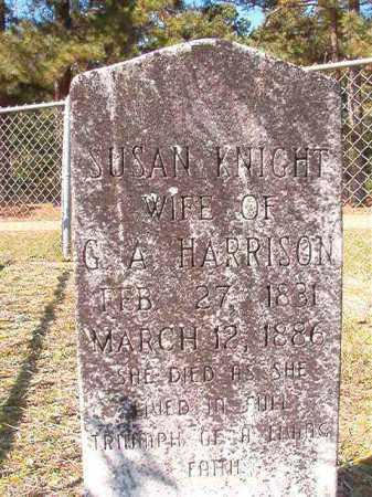 KNIGHT HARRISON, SUSAN - Dallas County, Arkansas | SUSAN KNIGHT HARRISON - Arkansas Gravestone Photos