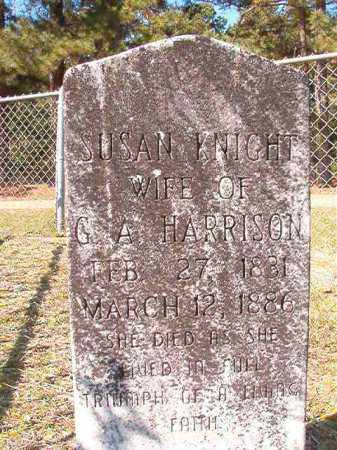 HARRISON, SUSAN - Dallas County, Arkansas   SUSAN HARRISON - Arkansas Gravestone Photos