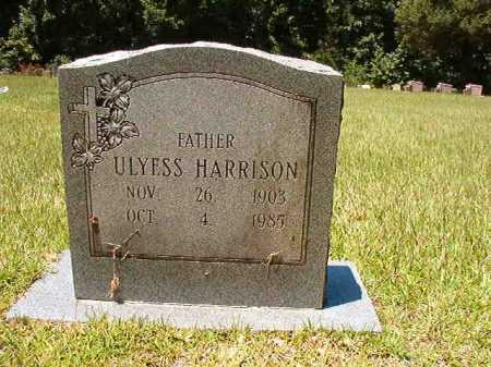 HARRISON, ULYESS - Dallas County, Arkansas   ULYESS HARRISON - Arkansas Gravestone Photos
