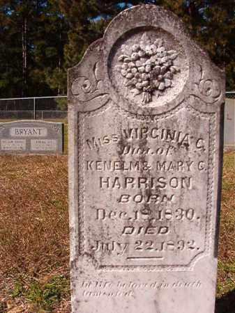 HARRISON, VIRGINIA C - Dallas County, Arkansas   VIRGINIA C HARRISON - Arkansas Gravestone Photos