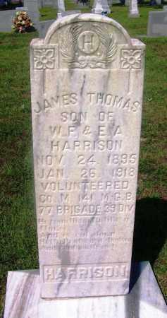 HARRISON (VETERAN), JAMES THOMAS - Dallas County, Arkansas | JAMES THOMAS HARRISON (VETERAN) - Arkansas Gravestone Photos