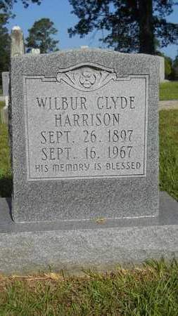 HARRISON, WILBUR CLYDE - Dallas County, Arkansas | WILBUR CLYDE HARRISON - Arkansas Gravestone Photos