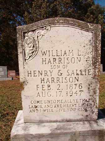 HARRISON, WILLIAM L - Dallas County, Arkansas | WILLIAM L HARRISON - Arkansas Gravestone Photos