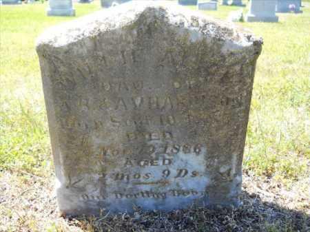 HARRISON, WILLIE ALICE - Dallas County, Arkansas | WILLIE ALICE HARRISON - Arkansas Gravestone Photos