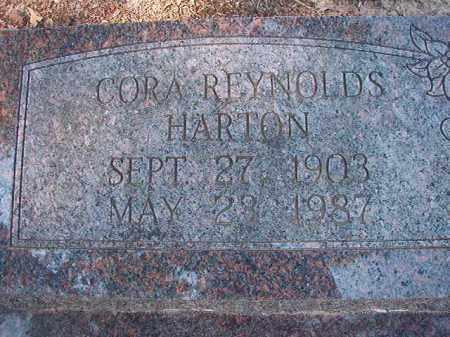 HARTON, CORA - Dallas County, Arkansas | CORA HARTON - Arkansas Gravestone Photos