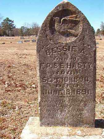 HASTY, BESSIE A - Dallas County, Arkansas | BESSIE A HASTY - Arkansas Gravestone Photos