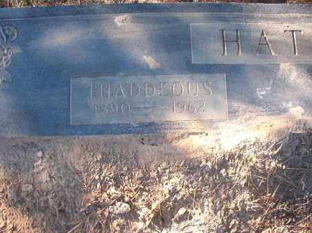 HATCHER, THADDEOUS - Dallas County, Arkansas   THADDEOUS HATCHER - Arkansas Gravestone Photos