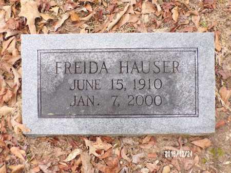 HAUSER, FREIDA - Dallas County, Arkansas | FREIDA HAUSER - Arkansas Gravestone Photos