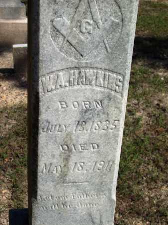 HAWKINS, W A - Dallas County, Arkansas | W A HAWKINS - Arkansas Gravestone Photos