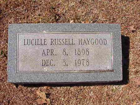 HAYGOOD, LUCILLE - Dallas County, Arkansas | LUCILLE HAYGOOD - Arkansas Gravestone Photos