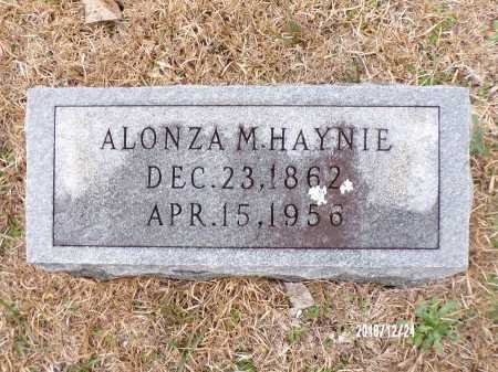 HAYNIE, ALONZA M - Dallas County, Arkansas   ALONZA M HAYNIE - Arkansas Gravestone Photos