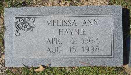 HAYNIE, MELISSA ANN - Dallas County, Arkansas | MELISSA ANN HAYNIE - Arkansas Gravestone Photos